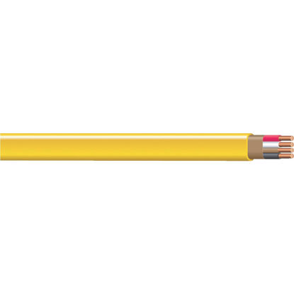 Picture of Romex 250 Ft. 12-3 Solid Yellow NMW/G Wire