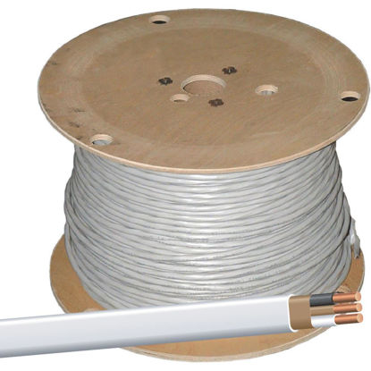 Picture of Romex 450 Ft. 14-2 Solid White NMW/G Wire