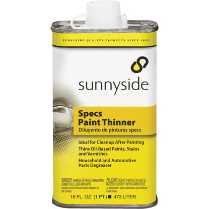 Picture of Sunnyside 1 Pint Specs Paint Thinner