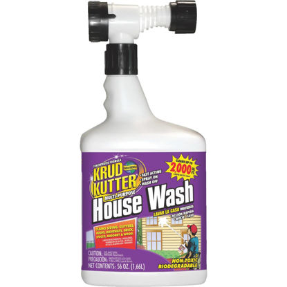 Picture of Krud Kutter Multi-Purpose House Wash Hose End Spray Concentrate, 56 Oz.