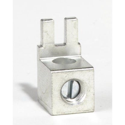 Picture of Square D QO #12 to 2 AWG (AI), #14 to 4 AWG (Cu) Tin Plated Aluminum Neutral Lug Terminal Kit