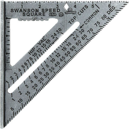 Picture of Swanson Speed 7-1/2 In. Aluminum Rafter Square