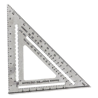 Picture of Swanson Big 12 Speed 12 In. Aluminum Rafter Square