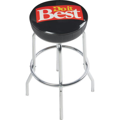 Picture of Do it Best 29-1/2 In. Black Bar Stool