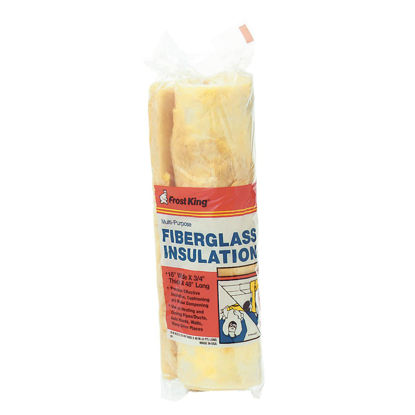 Picture of Frost King 16 In. x 48 In. MultiPurpose Fiberglass Insulation