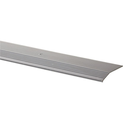 Picture of Do it Satin Silver Fluted 2 In. x 6 Ft. Aluminum Carpet Trim Bar, Extra Wide