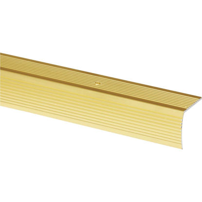 Picture of Do it Satin Gold 1-1/8 In. W x 72 In. L Aluminum Stairnose