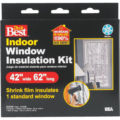 Picture of Do it Best 42 In. x 62 In. Indoor Shrink Film Window Kit