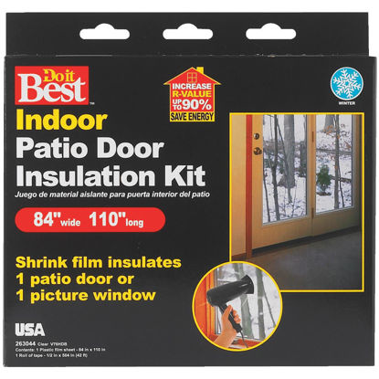 Picture of Do it Best 84 In. x 110 In. Indoor Shrink Film Window Kit