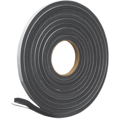 "Picture of Do it 1/2"" W x 3/8"" T x 17' L Charcoal Foam Weatherstrip Tape"