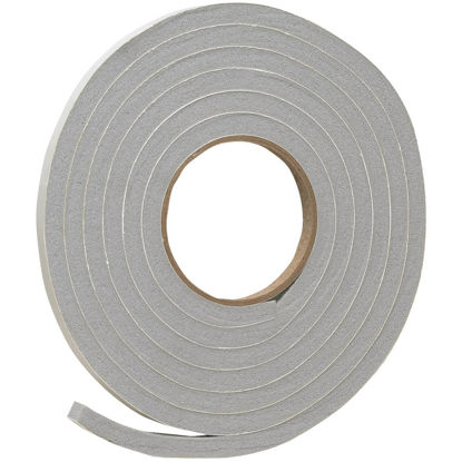 "Picture of Do it 1/2"" W x 3/8"" T x 10' L Gray Foam Weatherstrip Tape"