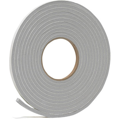 "Picture of Do it 3/8"" W x 1/4""T x 17' L Gray Foam Weatherstrip Tape"