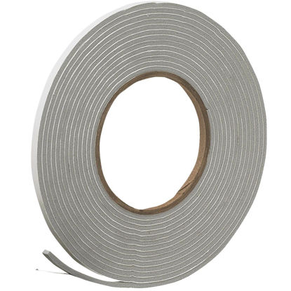 "Picture of Do it 1/4"" W x 1/8"" T x 17' L Gray Foam Weatherstrip Tape"