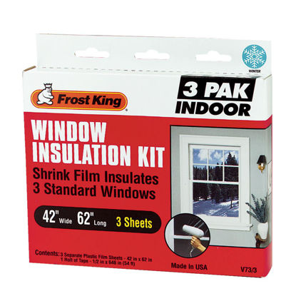 Picture of Frost King 42 In. x 62 In. Indoor Shrink Film Window Kit, (3-Pack)