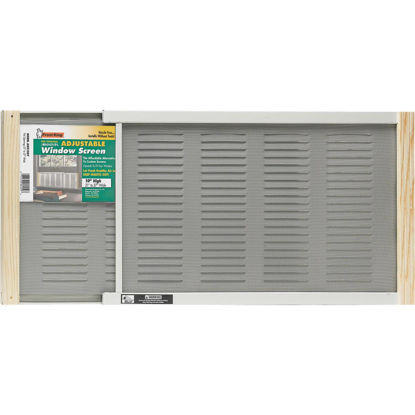 Picture of Martin Adjustable Louvered Screen Window with Ventilator