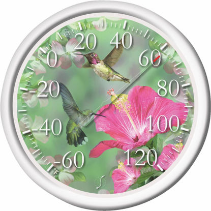 "Picture of Taylor 13-1/2"" Fahrenheit -60 To 120 Outdoor Wall Thermometer"
