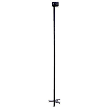 Picture of Tie Down 6 In. x 48 In. Black Iron Double Head Earth Anchor