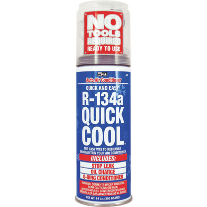 Picture of Quest Quick Cool 14 Oz. R-134a Refrigerant