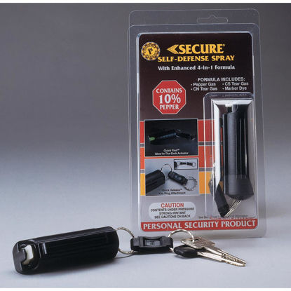 Picture of Secure 10% Pepper .5 oz Black Self-Defense Spray