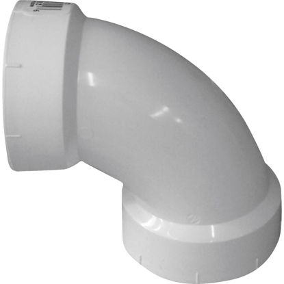Picture of Genova 1-1/2 In. 90D Sanitary PVC Elbow