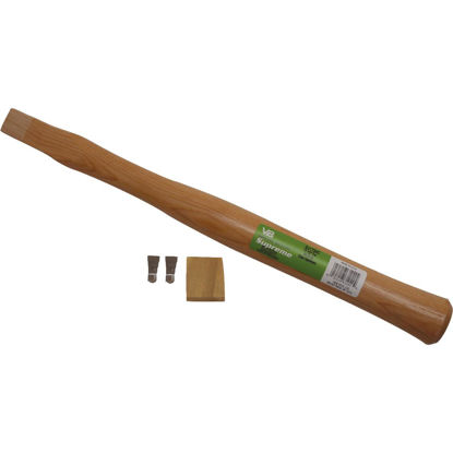 Picture of Vaughan 17-1/2 In. L x 1-1/2 In. Dia. American Hickory Hatchet Replacement Handle