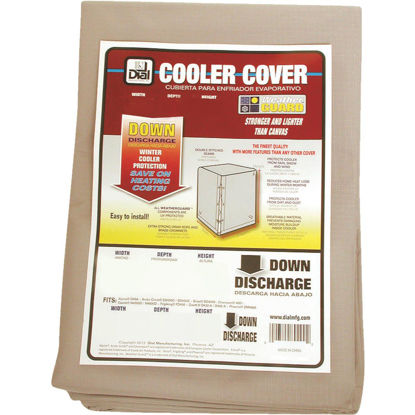Picture of Dial 28 In. W x 28 In. D x 34 In. H Polyester Evaporative Cooler Cover, Down Discharge