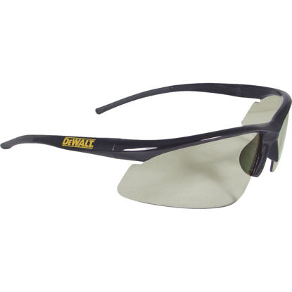 Picture of DeWalt Radius Black/Yellow Frame Safety Glasses with Tinted Lenses