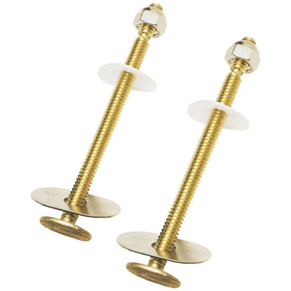 Picture of Do it 1/4 In. x 3-1/2 In. Extra Long Solid Brass Toilet Bolts (2 Ct.)