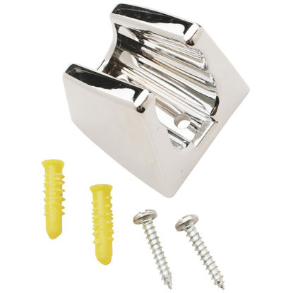 Picture of Do it Chrome Plastic Shower Wall Mount with Screws and Slide