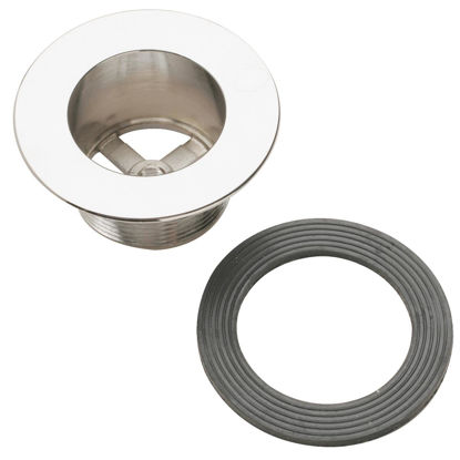 Picture of Do it 1-1/2 In. Coarse Waste Shoe Tub Drain Strainer with Chrome Finish