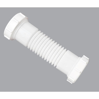 Picture of Do it 1-1/4 In. or 1-1/2 In. White Plastic Flexible Coupling and Elbow