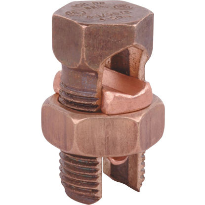 Picture of Blackburn 1.0 Str. to 4 Sol. Silicon Bronze Alloy High-Strength Split Bolt Connector