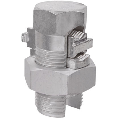 Picture of Blackburn 4/0 Str. to 2 Sol. Aluminum Dual Rated Split Bolt Connector