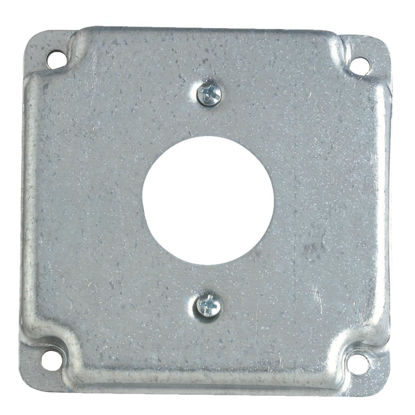 Picture of Steel City 1-13/32 In. Receptacle 4 In. x 4 In. Square Device Cover