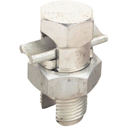 Picture of Blackburn 2 to 8 Str. AWG Tin Plated Aluminum Corrosion-Resistant Split Bolt Connector