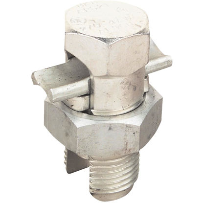 Picture of Blackburn 4 to 10 Str. AWG Tin Plated Aluminum Corrosion-Resistant Split Bolt Connector