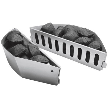 Picture of Char-Basket Aluminized Steel Charcoal Fuel Holders (2-Pack)