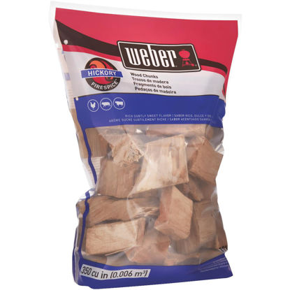 Picture of Weber FireSpice 4 Lb. Hickory Smoking Chunks