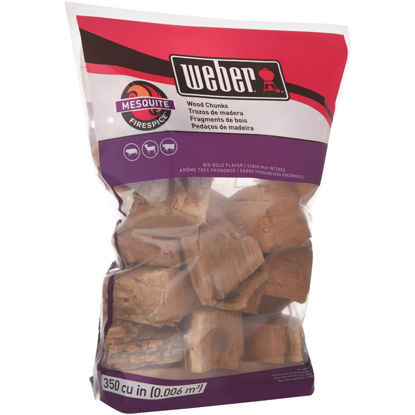 Picture of Weber FireSpice 4 Lb. Mesquite Smoking Chunks