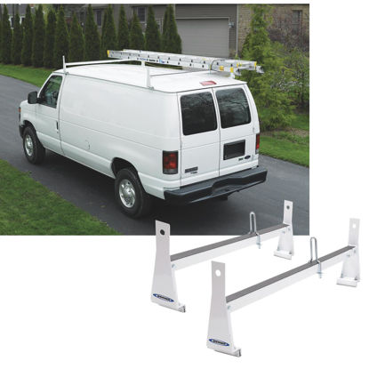 Picture of Werner Ladder 600 Lb Capacity White Van Rack
