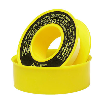 Picture of Do it 1/2 In. x 260 In. Yellow Thread Seal Gas Line Tape