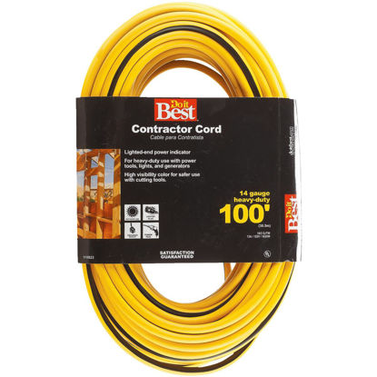Picture of Do it Best 100 Ft. 14/3 Contractor Extension Cord