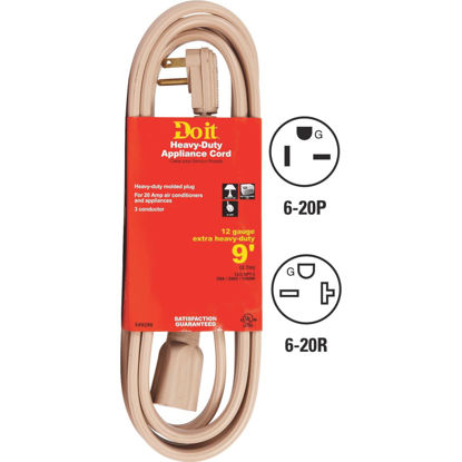 Picture of Do it 9 Ft. 12/3 20A Appliance & Air Conditioner Cord