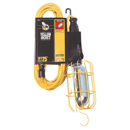 Picture of Yellow Jacket 75W Incandescent Trouble Light with 25 Ft. Power Cord