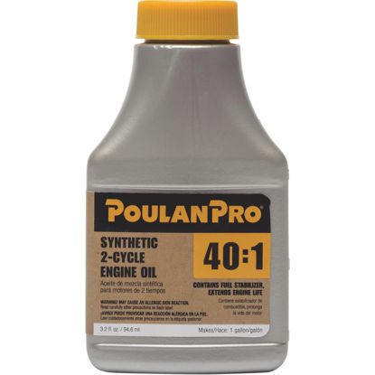 Picture of Poulan Pro 3.2 Oz. Semi-Synthetic 2-Cycle Motor Oil