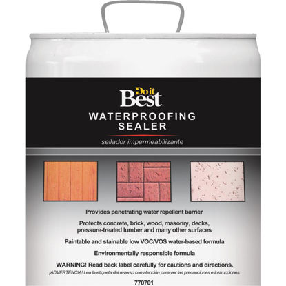 Picture of Do it Best Clear Water-Based Waterproofing Sealer, 5 Gal.