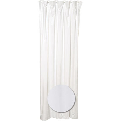 Picture of Zenith 36 In. x 72 In. White Stall Size Shower Liner