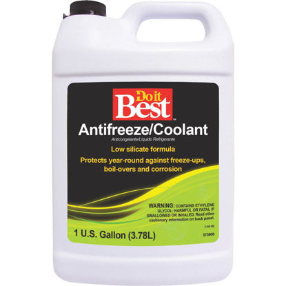 Picture of Do it Best Gallon Concentrate -62 F to 274 F Conventional Automotive Antifreeze
