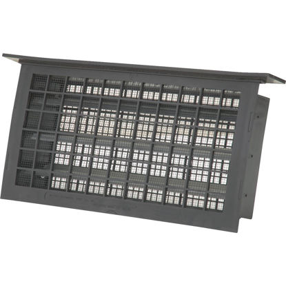 Picture of Witten 8 In. x 16 In. Black Automatic Foundation Ventilator with Lentil