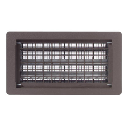 Picture of Witten 8 In. x 16 In. Brown Automatic Foundation Ventilator